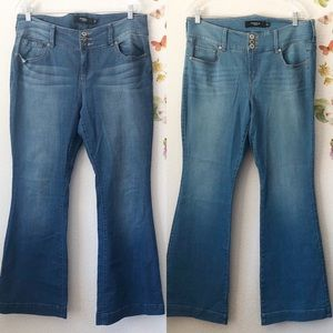 TORRID Three-button Flare Jeans size 16S (2 pairs)